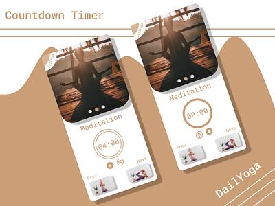 #DailyUI #014 - Countdown Timer design app ux ui