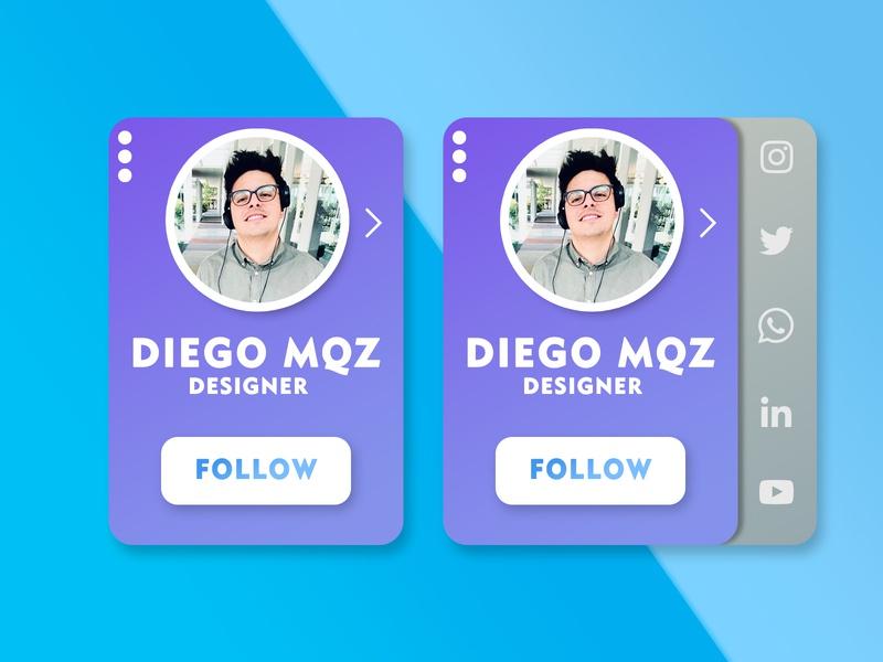 Daily IU 10 design shape button share dailyui