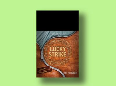 Lucky Strike 1912 packaging design packaging branding lucky strike