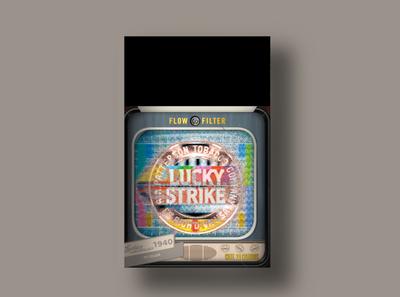 Lucky Strike 1940 packagingdesign packaging branding tv lucky strike