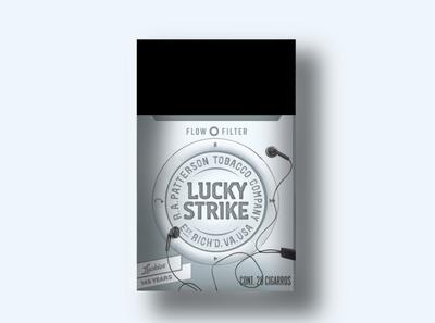 Lucky Strike 2002 ipod packaging design packaging branding lucky strike