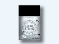 Lucky Strike 2002 ipod packaging design packaging branding lucky strike
