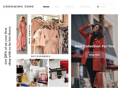 Clothes Shopping Website Designs ios app design android app development ios app development design futuristic design ui design website designing webdesign uiux ui