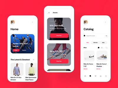 Shoes Shopping App Designs product designs ios app designs mobile app designs uiux designing ux design ui design ux ui