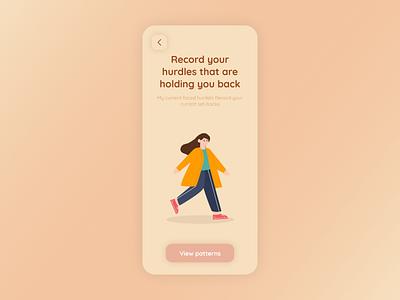 Habit Tracking App Designs product designs ios app designs mobile app designs ux design ui desig ux ui