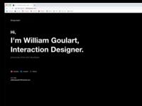 New draft website experimental design web ui figma portfolio website