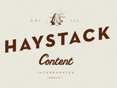 Haystack content strategy