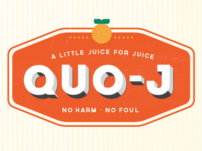 Quo-J logo illustration