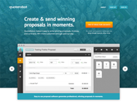 quoterobot home page