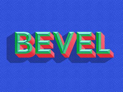 Bevel typography art typography lettering infographic design illustration icon digital painting digital illustration design
