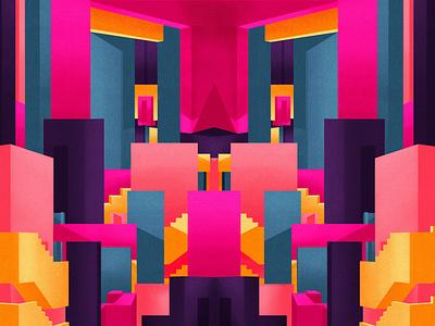 Art zine - No3 abstract illustration abstract design abstract art illustration art illustration digital painting digital illustration design