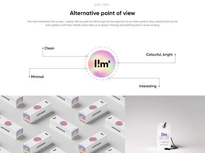 LIM branding typography minimal logo identity graphic design design clean branding