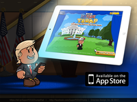 Super POTUS Trump™ now available for iPad!