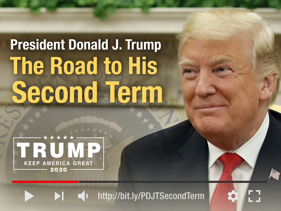 President Donald J. Trump: The Road to His Second Term photoshop trump2020 president donald j. trump trailer youtube president trump