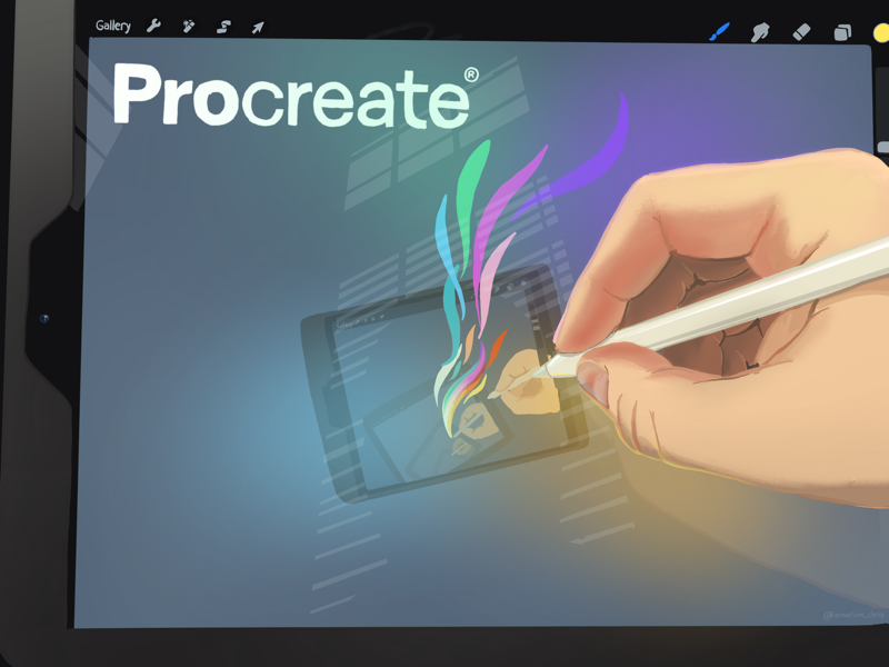 Procreate Hand stylus hand ipad procreate