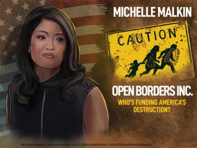 Michelle Malkin michelle lana americafirst ipad procreate michellemalkin
