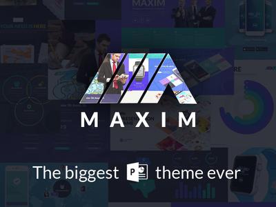 Maxim Powerpoint Template