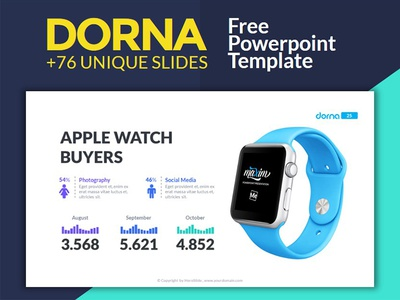 Dorna , Free Powerpoint Template