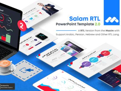 SalamRTL - Pro RTL Text PowerPoint Template