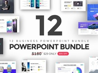 12 in 1 Business Powerpoint Bundle