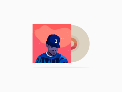 Coloring Book coloring book chance the rapper illustration vinyl record