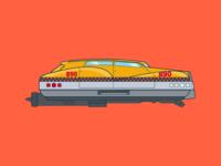 Korben Dallas' Taxi Cab