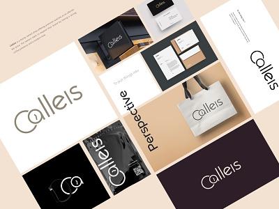 Calleis | Branding and visual identity design premium watch minimal design minimal graphic design visual identity logo design branding project logo branding brand design