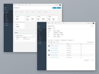 Custom Inventory App design web app