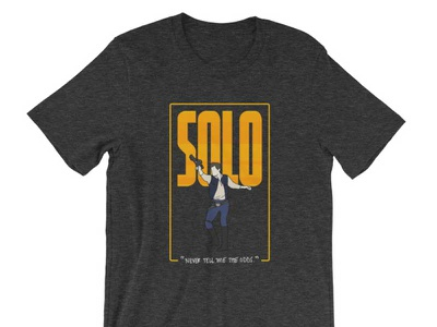 Solo Shirt t-shirt star wars solo shirt