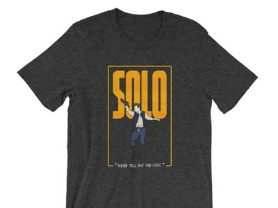 Solo Shirt t-shirt star wars solo shirt