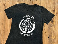 Club Fire Volleyball T-shirt