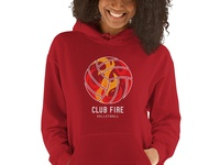 Club Fire Volleyball Hoodie