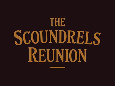 The Scoundrels Reunion lhf logo band