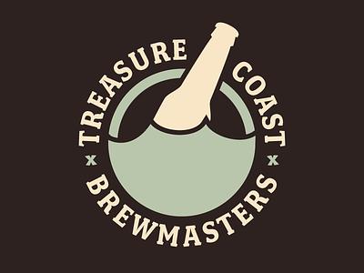 TCBM treasure bottle homebrew club florida logo fairplex wave
