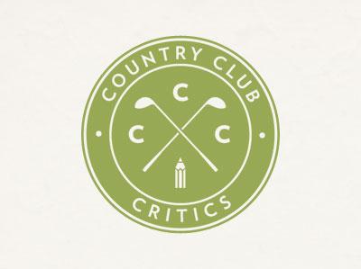 Country Club Critics golf crest seal verlag