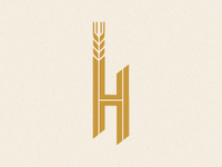 H is for beer.