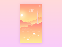 My city weather page