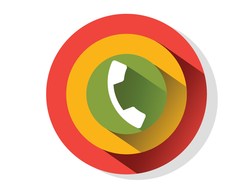Call Priority  green yellow red priority call design app mobile ux ui