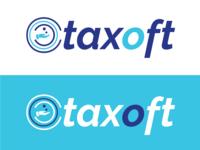 Online tax filing software logo design