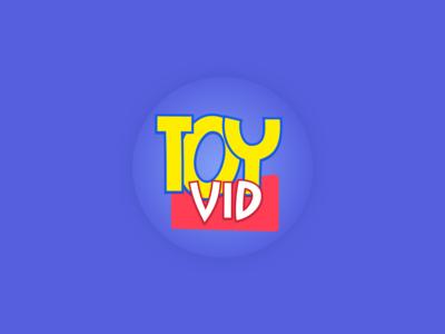 ToyVid- youtube Channel Logo Design