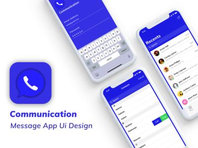 Message App Ui Design