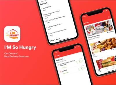 I'M So Hungry - On-Demand Food Delivery App