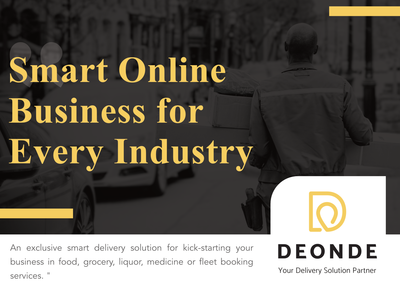 Delivery On Demand Brochure Design