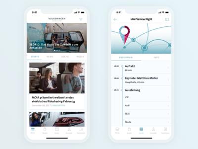 Volkswagen Group Newsroom App