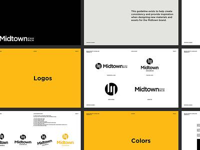 Midtown Brand Guide brand design brand guide brand branding brand identity logo design logo