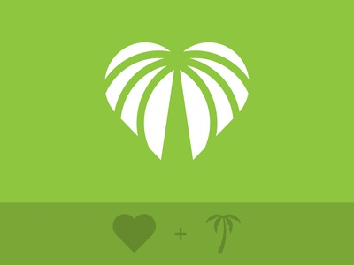 Heart + Palm logo