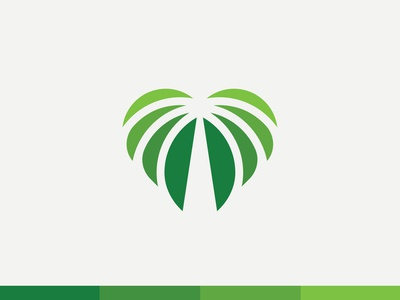 Heart of Palms Logo mark