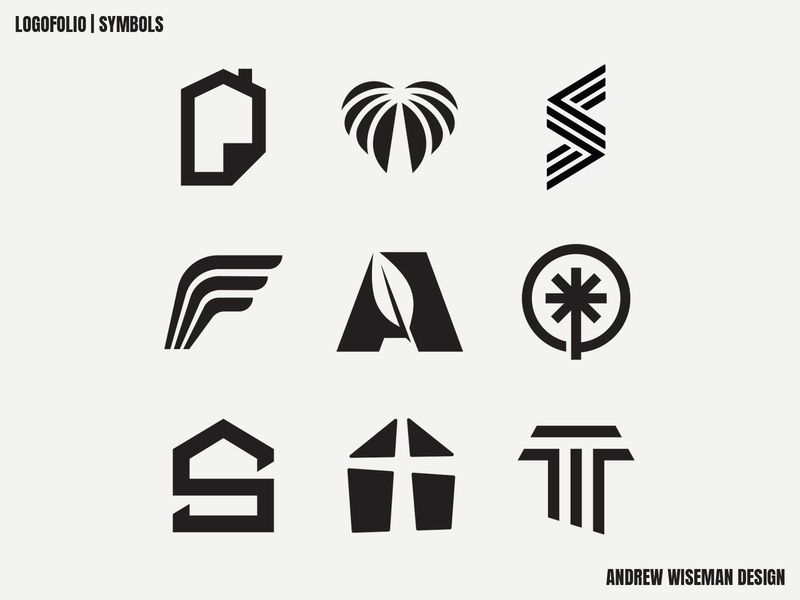 LOGOFOLIO   SYMBOLS logofolio monogram design simple logo designer logo identity brand branding brand identity logo design logo