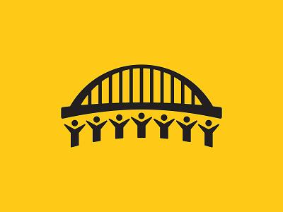 Bridge the Gap vector typography vector illustration vector art design illustration simple brand branding brand identity