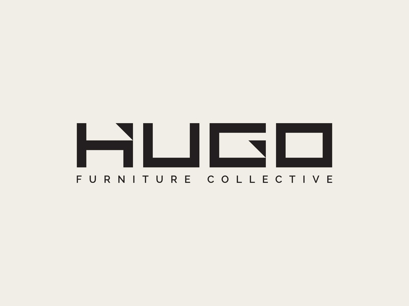Hugo Logo Design minimal logo modern logo warehouse logo furniture logo brand branding brand identity logo design logo